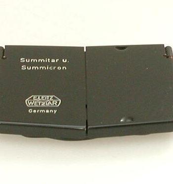 Zonnekap voor Summitar / Summicron 50mm lenzen