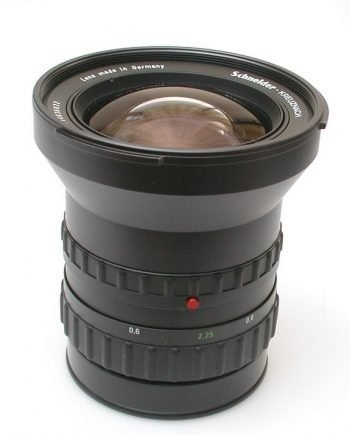 Schneider Super-Angulon 2,8/50mm PQS voor het 6000 systeem