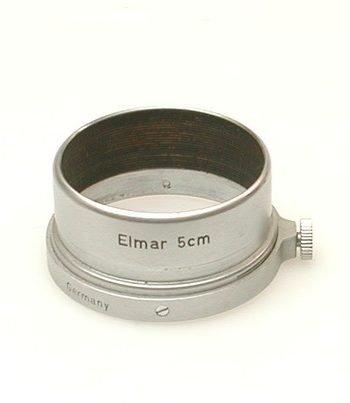 Zonnekap voor de Elmar 3,5/50mm