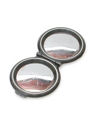 Glanzende chrome lens deksel voor bayonet 3 camera's