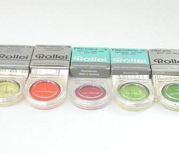 Rollei licht blauw filter