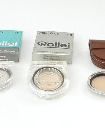 Rollei R5 kleurconversie filter