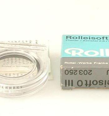 Rolleisoft 0 filter