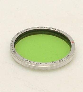 Rollei licht groen filter