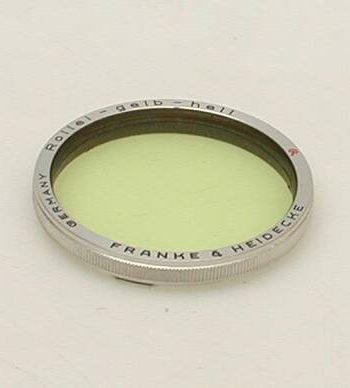Rollei licht geel filter