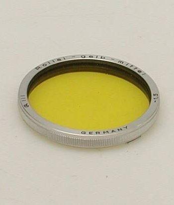 Geel medium filter