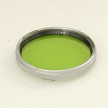 Naamloze geel/groen filter