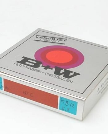 67mm B+W filter KB12