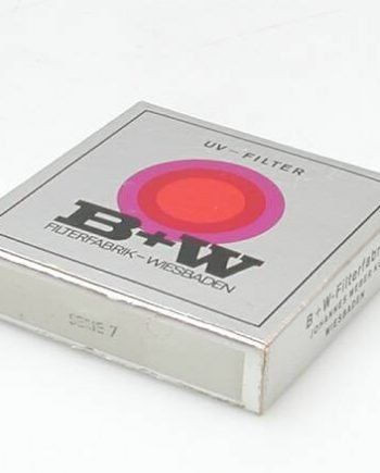 UV B+W serie 7 filter zwarte rand