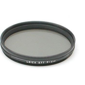 Leitz circ. polarisatie filter 77mm