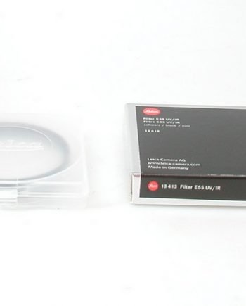 UV/IR filter 55mm in zwart