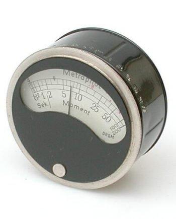 Hele oude Metraphot meter