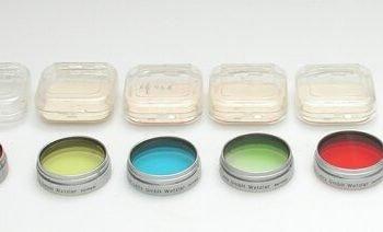 Leitz 41mm blauw filter