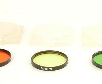 Leitz oranje filter serie 6