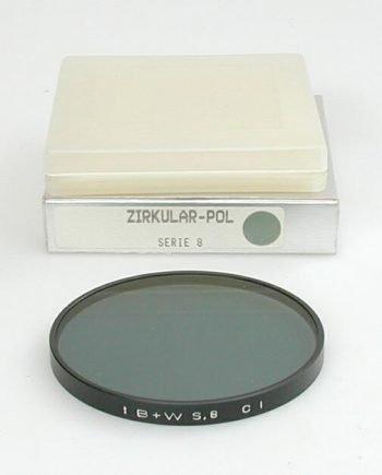 B+W circ. polarisatie filter serie 8