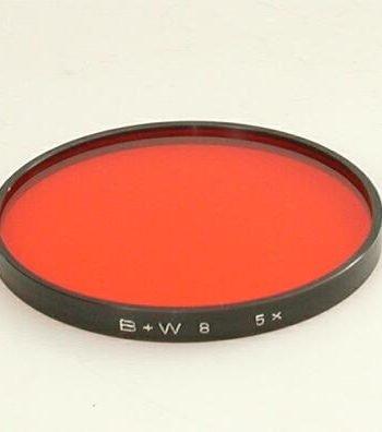 B+W oranje 4 serie 8 filter
