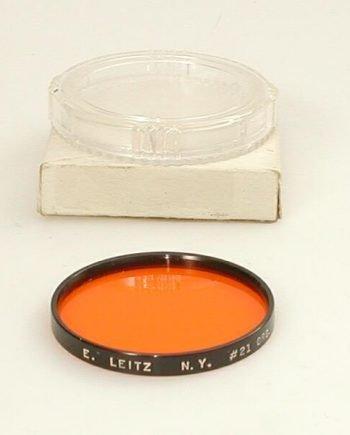 Leitz NY oranje serie 7 filter