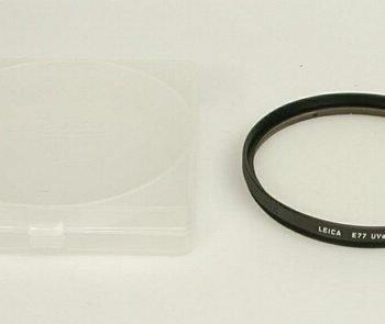 Leitz UVa filter 77mm