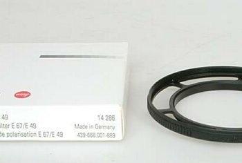 Leitz polarisatiefilter-adapter 67mm/49mm
