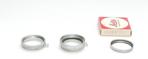 Adapter voor gebruik van Summitar filters op A36 lenzen