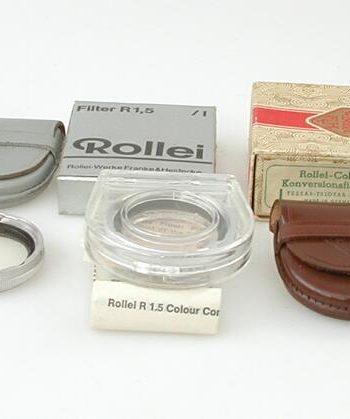 Rollei R11 kleurconversie filter