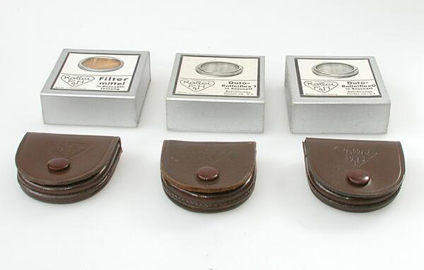 Set van 3 filters voor verzamelaars