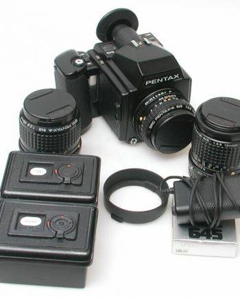Pentax 645 set