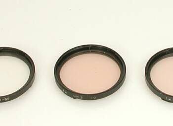 Hasselblad B50 kleurcorrectie filters