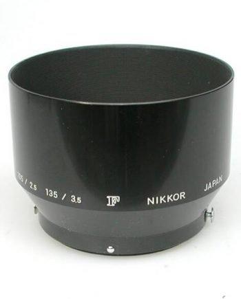 Zonnekap voor F Nikkor 105mm en 135mm