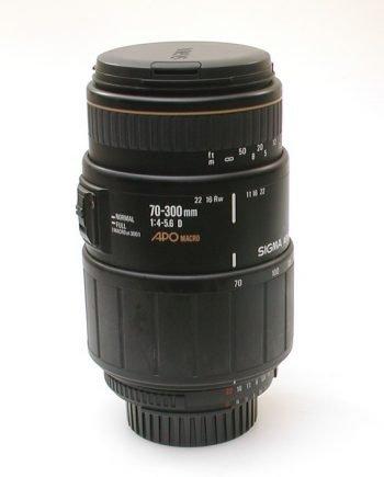 Sigma 70 - 300 mm Apo Macro