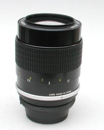 Nikkor 135 mm lens