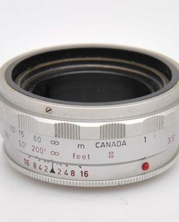 Leica 16463 Korte scherpstelring voor 2,0/90mm lens kop chroom