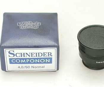 Schneider Componon 50mm lens