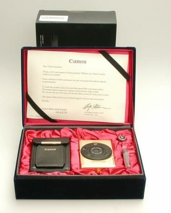 Canon Ixus limited edition goud