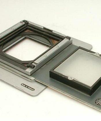 Camera achterwand voor filmrol cassette 13 x 18