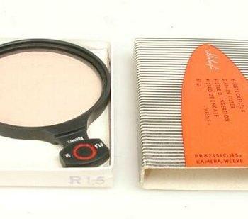 Linhof R1,5 51mm filter