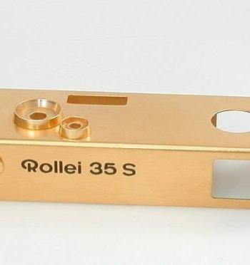Topplaat Rollei 35S goud kopen