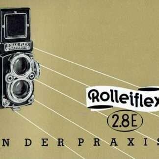 rolleiflex 2.8e gebruiksaanwijzing kopen