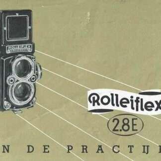rolleiflex 2.8e nederlandse gebruiksaanwijzing