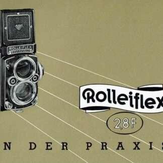 rolleiflex 2.8F duitse gebruiksaanwijzing kopen